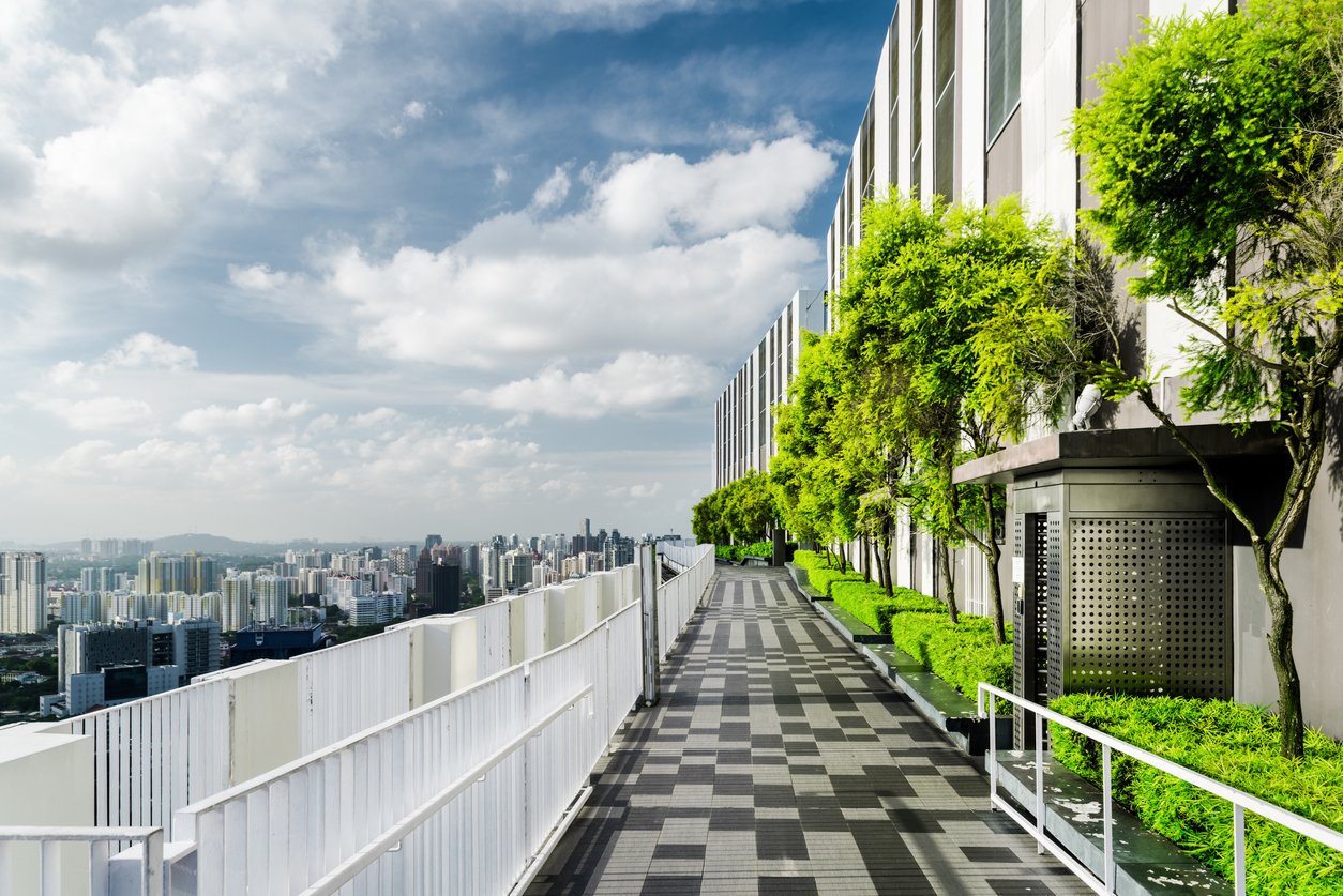 Amazing rooftop garden in Singapore